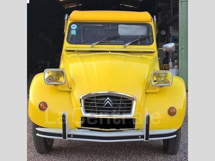 les 58 meilleures images du tableau 2cv jaune sur pinterest jaune voitures et projets. Black Bedroom Furniture Sets. Home Design Ideas