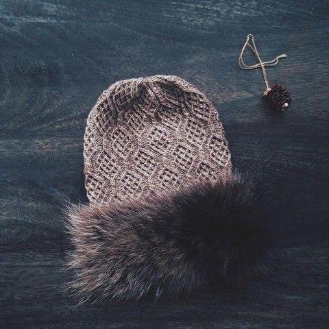 Схема рисунка для шапочки