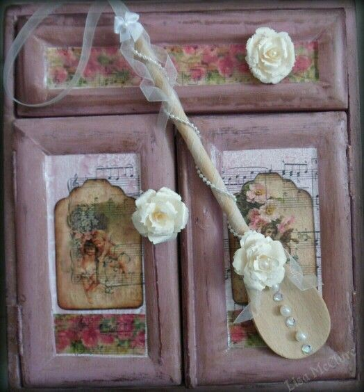 Craft Wedding Gifts: 32 Best Images About Decorated Wooden Spoons On Pinterest