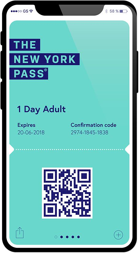 New York Pass Mobile Ticket