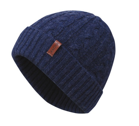 Get your custom toque on! Liking the simplicity of this guy with a custom leather label!