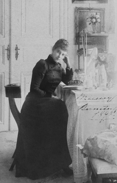 Empress Maria Feodorovna of Russia.