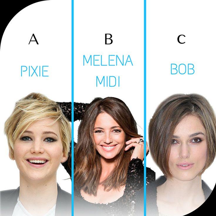"""Son los cortes del momento y se seguirán llevando esta primavera-verano 2015. ¿Cuál es vuestro favorito? A) Corte Pixie, """"desconectado"""" de la zona alta de la cabeza.  B) Melena Midi, a la altura de la clavícula. C) Bob, liso como lo lleva la Princesa Letizia o con ondas, como Elsa Pataki. Dale estilo a tu cabello con KADUS VOLUMATION LOCION. #celebrities #tendenciasdepeluqueria"""