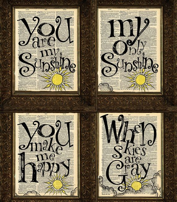 You Are My Sunshine Wall Decor best 25+ my sunshine ideas on pinterest | sunshine baby showers