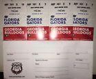 4 Georgia Bulldogs vs Florida Gators tickets (In the UGA section)