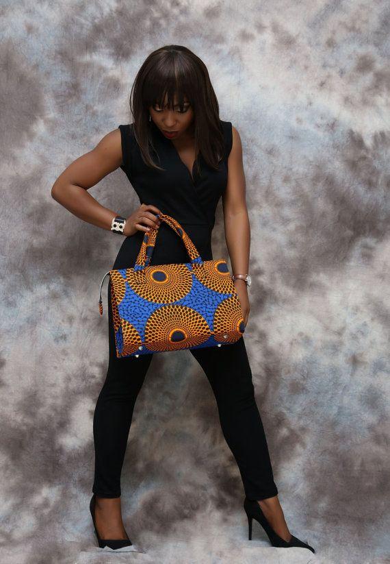 Sac à main imprimé africain tissu africain sac par HouseOfIzzi