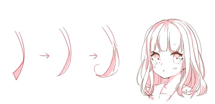 キャラクターの個性を演出する髪の描き方講座 - 動画で学ぶ!by Palmie (パルミー) - CLIP STUDIO PAINT 使い方講座 - CLIP STUDIO | 創作応援サイト