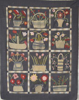 Linen Closet Quilts- Little Wooly Baskets:
