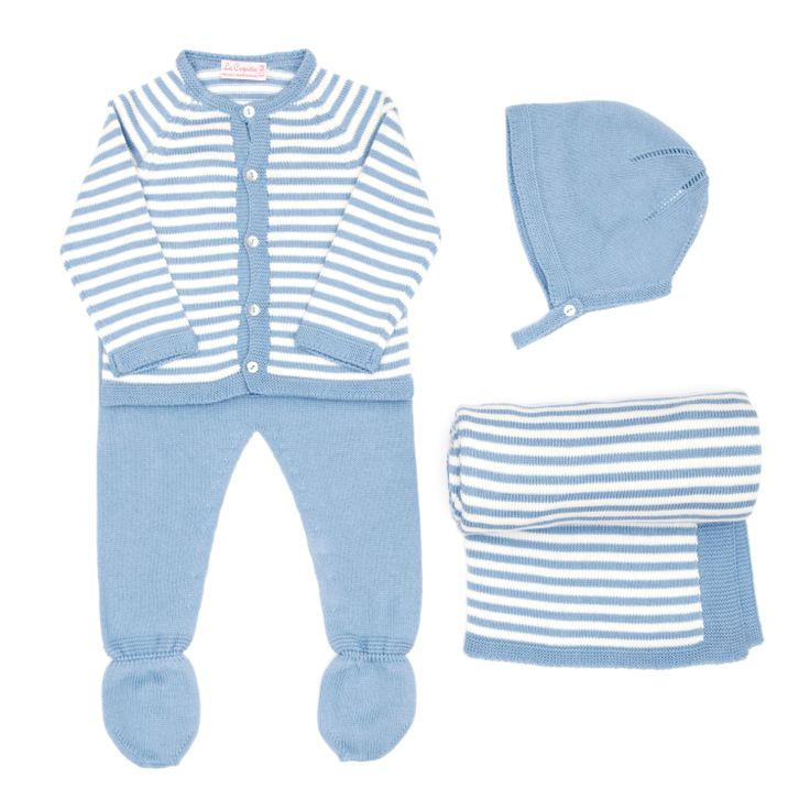 Knitted #baby set