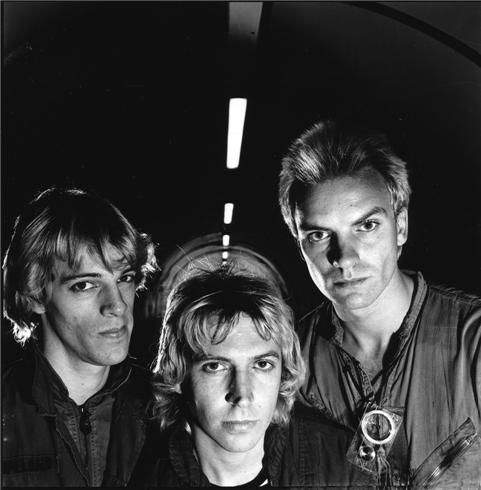 The Police, Waterloo, London, 1978  © JANETTE BECKMAN, 1978  Taken for the Police's first album cover Outlandos d'Amour in a tunnel on the South Bank in London.