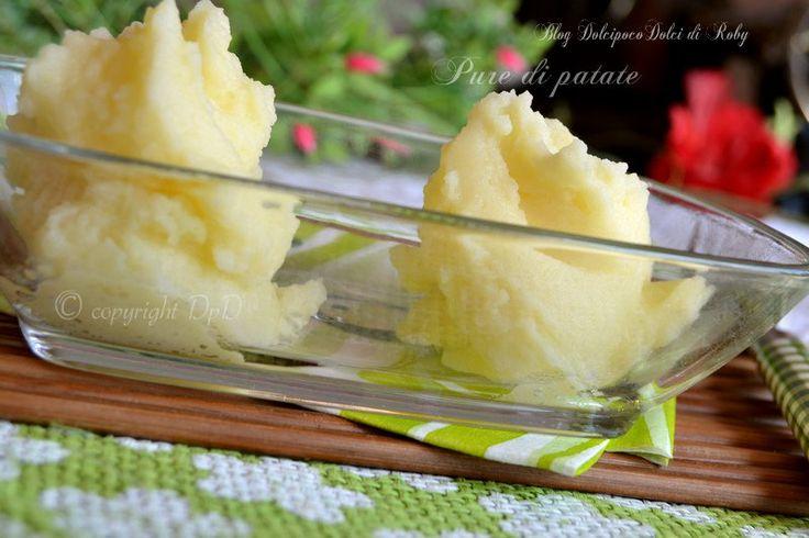 Ricetta Purè di patate cremoso un Contorno facile !  Ricetta http://blog.giallozafferano.it/dolcipocodolci/pure-di-patate/