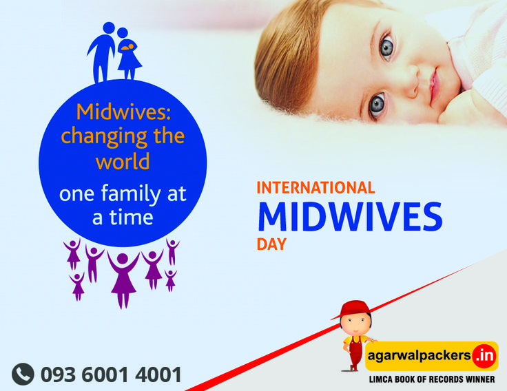Every 5th May worldwide people dedicate one day to remind everyone of the life saving effort of international midwives day 2016  From:  ( #Agarwal #Packers & #Movers - DRS Group )  #LimcaBookOfRecords #LimcaBook #AGARWALPACKERSANDMOVERS  #birth #birthwithoutfear #hireadoula #worldofdoulas #homebirth #birthcenter #hospitalbirth #midwife #midwives #birthworkers #birthprofessionals #motherhood #expecting #pregnancy #childbirth…