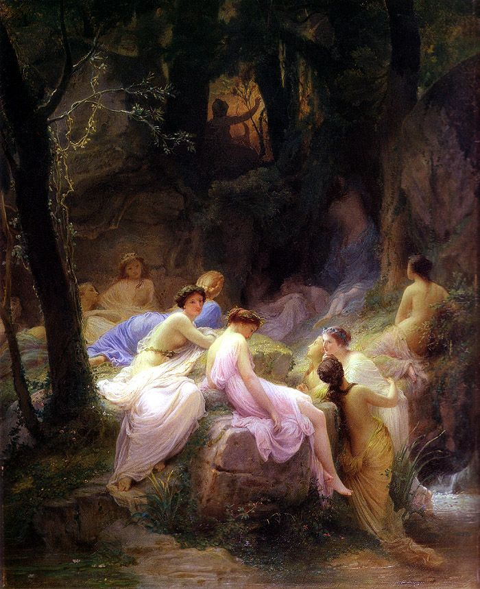Nymphs listening to Orpheus - Alexandre Cabanel