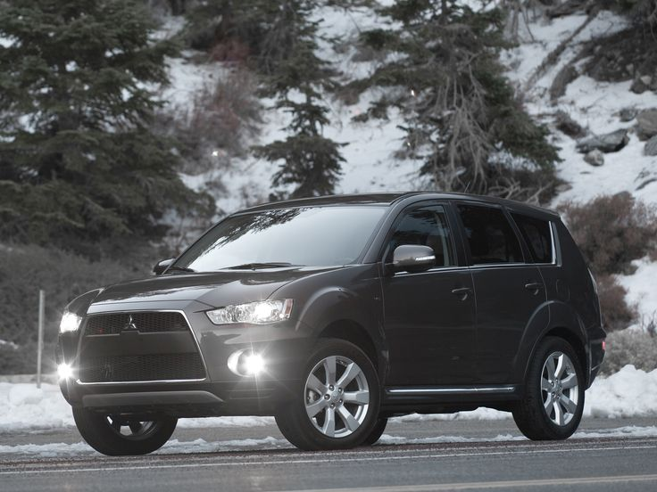 Mitsubishi Outlander North America '2009–13