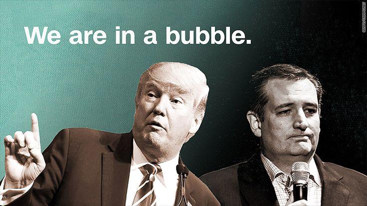Trump and Cruz predict stock market 'crash'