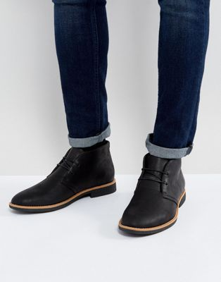 New Look Desert Boots In Black
