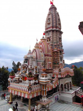 Jatoli Shiv Temple in Solan, Himachal, India. one of the highest  Shiv temple in Asia.