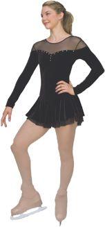 Chloe Noel Velvet Double-Layer Mesh Skirt Dress DLV04