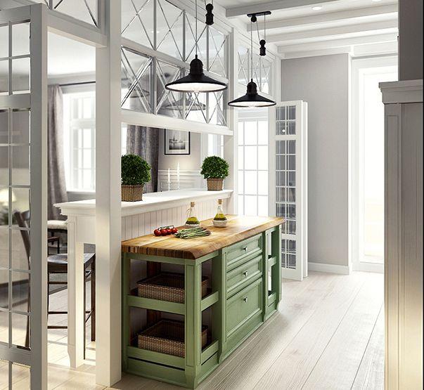 кухня за стеклянной перегородкой - Поиск в Google