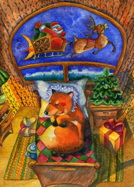 The dream of fox http://www.popcards.ru/index.php?productID=734
