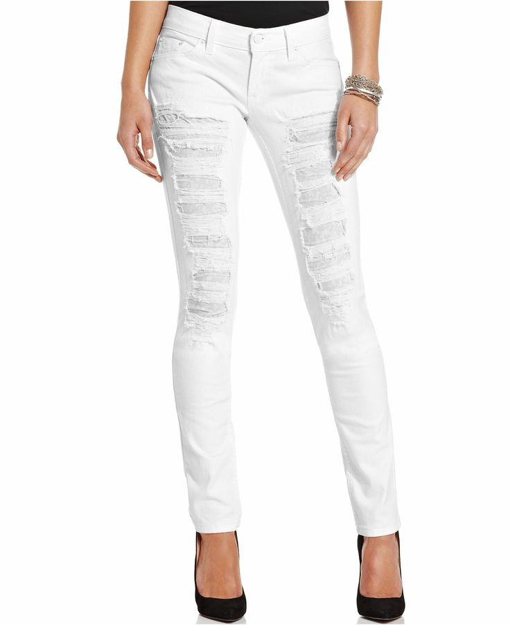 60 best images about Trend We Love: White Jeans on Pinterest ...