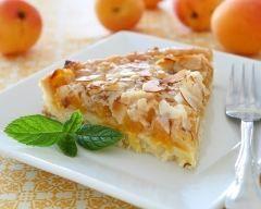 Tarte à l'abricot et aux amandes (facile, rapide) - Une recette CuisineAZ