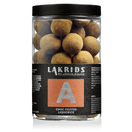 BIG A – Chocolate Coated Liquorice - Lakrids by Johan Bülow