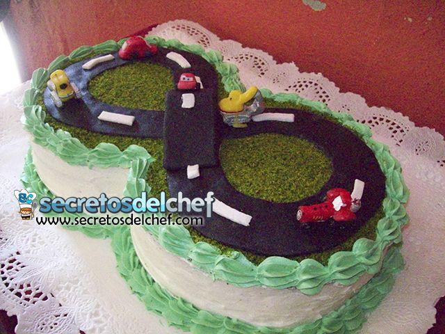 pasteles de carros de carreras - Buscar con Google