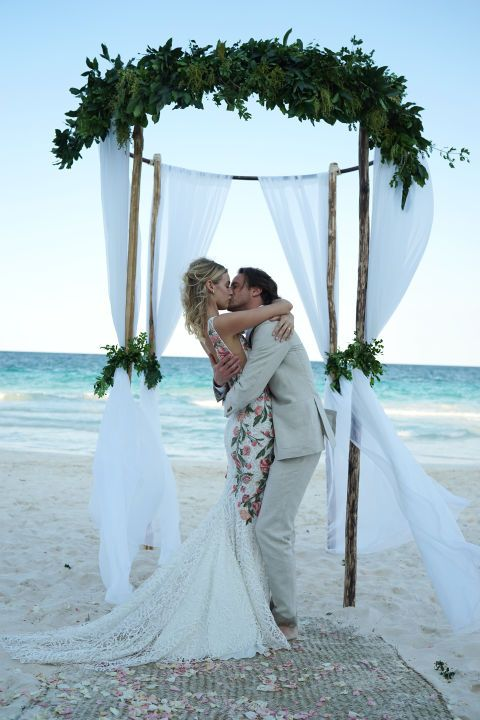 Roxanne Conso & Romain Pavee's Wedding in Tulum, Mexico - Paradise Found: The Ultimate Beach Wedding in Tulum, Mexico