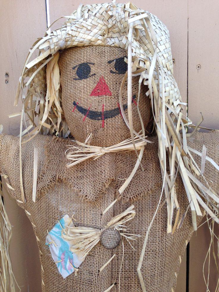 Scarecrow! (made from burlap) | DIY | Pinterest | Burlap ...