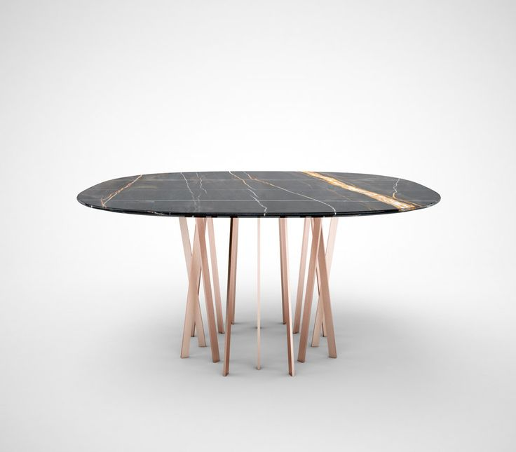 17 migliori idee su Tavoli Da Pranzo In Marmo su Pinterest  Modello di tavol...
