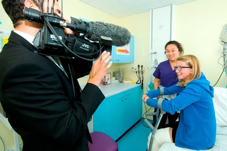 Ben Bland from BBC Look East TV News visited the Lister's brand new children's emergency department at the Lister