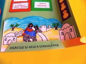 Lapbook ingresso a Gerusalemme