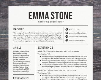 easy to use media kit inspiration for bloggers or entrepreneurs or use it as a resume resume template freefree resumeresume