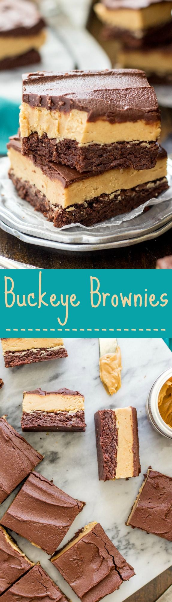 Buckeye Brownies -- These are DELICIOUS!