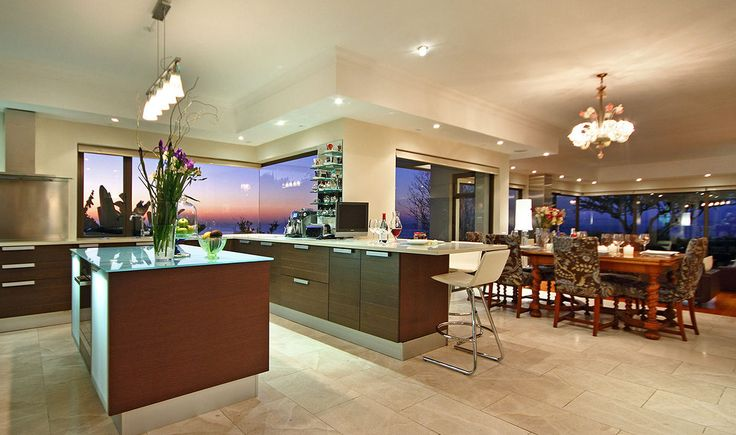 The most beautiful kitchen at Hamilton House, Fresnaye, Cape Town, South Africa www.hamiltonhousecapetown.com