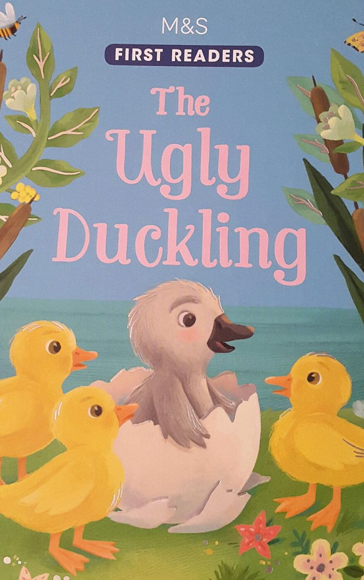Free coloring pages for the ugly duckling - The Ugly Duckling Cover Livia Coloji Ugly Duckling Childrensbook Classic