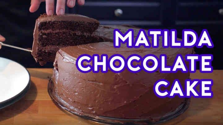 Binging with Babish - Chocolate Cake From Matilda. Matilda, Danny DeVito's thunderous directorial follow-up to Hoffa (1992), features an inexplicably...