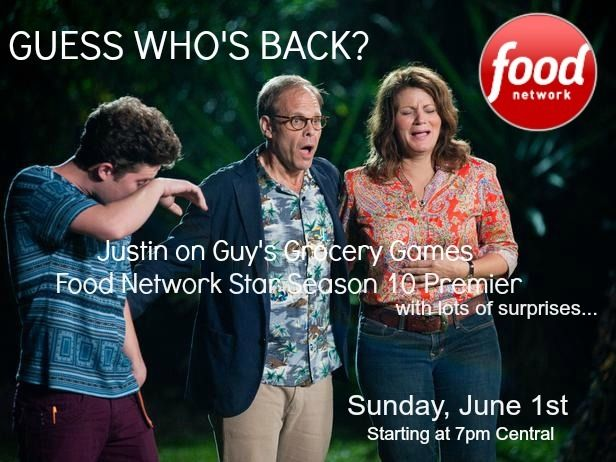 I'm BACK on Food Network Star as a Fan Favorite! Whoohoo! Please join me tonight at 8C/9E as I get a second chance for my own show on Food Network. I'm part of the Star Salvation online series... all starts tonight! #starsalvation #partyarmy