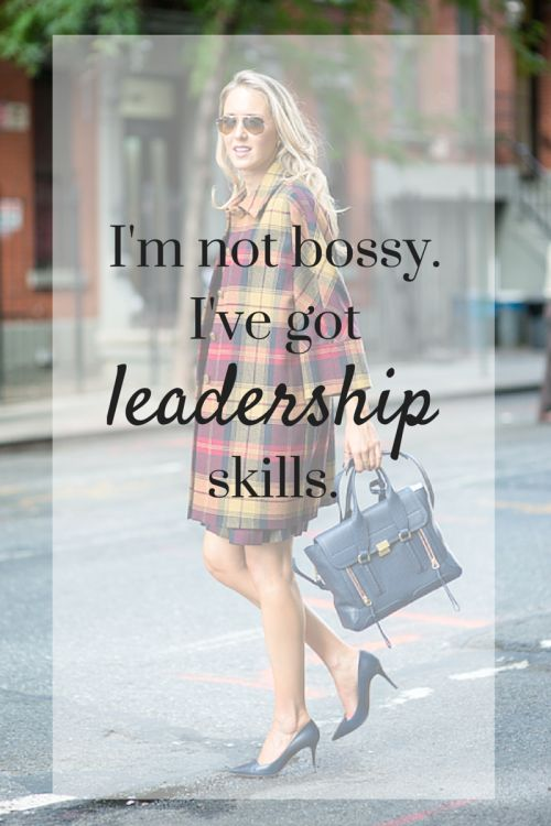 """Wow. So true. """"Strong leadership"""" from a man is """"bossy"""" from a woman. But results speak for themselves."""