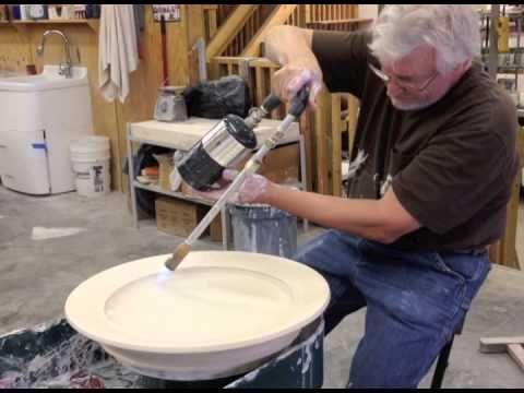 Steven Hill 2014 Platter throwing demo - YouTube