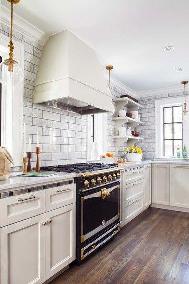 marble kitchens design chic