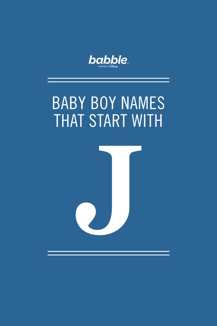 unique baby boy names starting with the letter j