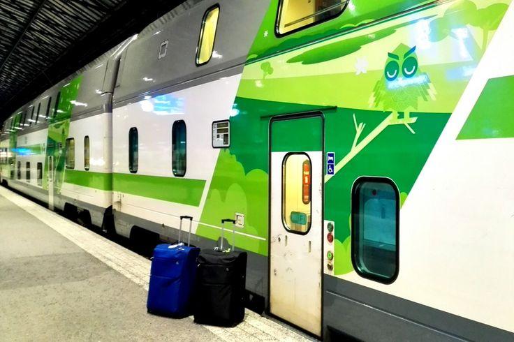 Treno notturno da Helsinki a Rovaniemi, viaggio alla casa di Santa Claus