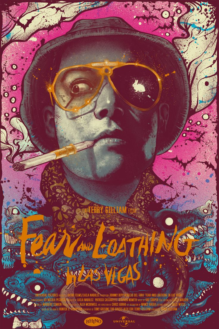 Fear and Loathing in Las Vegas by Nikita Kaun