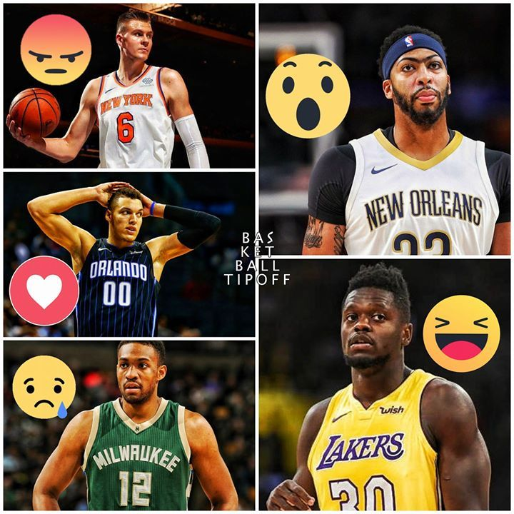The All NBA under 25 starting line up is almost complete now YOU the Basketball Tipoff fans must select a Power Forward.  So far Ben Simmons is at Point Guard Devin Booker is at Shooting Guard and Giannis Antetokounmpo is at Small Forward.  -ATrain