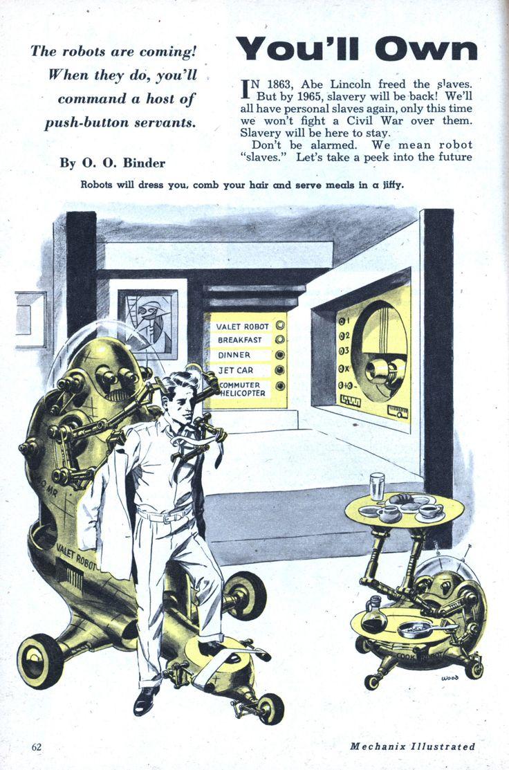 "You'll Own ""Slaves"" by 1965   Modern Mechanix"