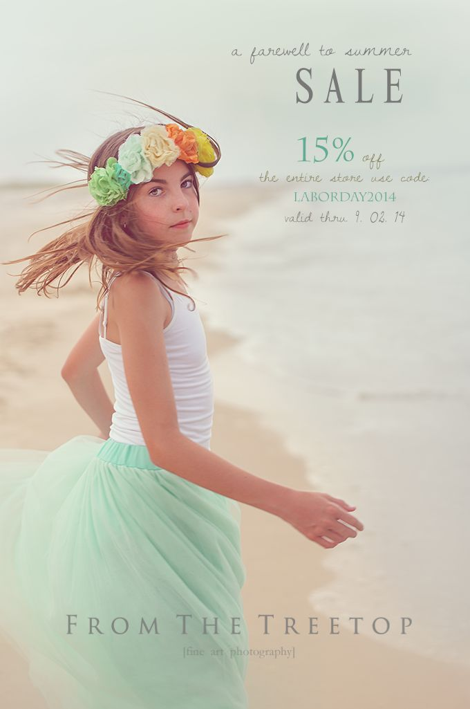 """Happy Labor Day!! ---SALE--- Save 15% off the entire shop now thru 9/02/14. Enter code: laborday2014 http://site.fromthetreetop.com/store/ I don't host many sales, so take advantage if you have been waiting.  Please share to pass along the savings! image edited with FTT Seaside Action- """"by the shore"""" and FTT Ethereal Action- """"garnet"""" From The Treetop Photography"""