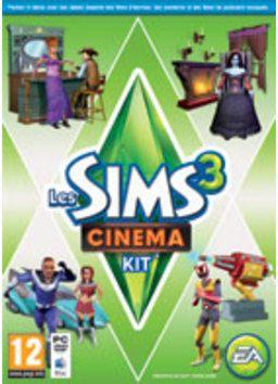 Amenez l'extravagance, le glamour et la magie des plus belles créations cinématographiques d'Hollywood chez vos Sims avec Les Sims?,,? 3 Cin...