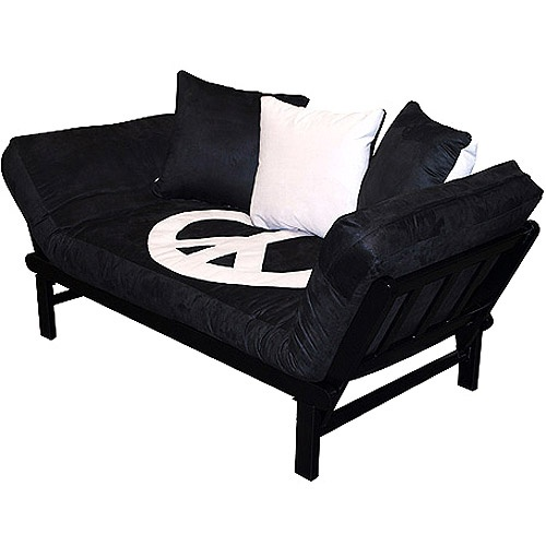 Hudson Multi Position Futon Lounger Set Peace Sign For The Home Pinterest